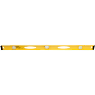 """Stanley Hand Tools 42-480 48"""" Top Read Professional Carpenter Levels"""""""