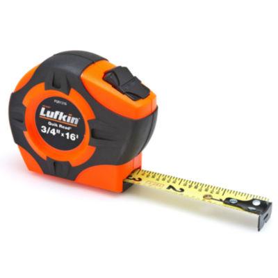 Lufkin Pqr1316N Orange Power Tape Measure 3/4IN X16'