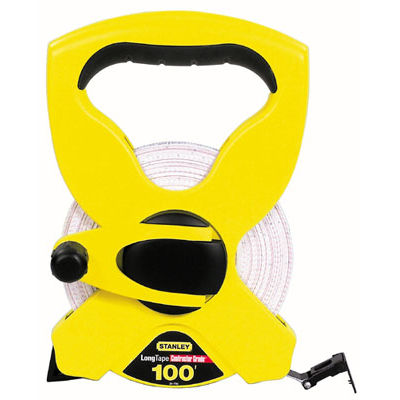 Stanley Hand Tools 34-790 100' Open Reel Tape Measure