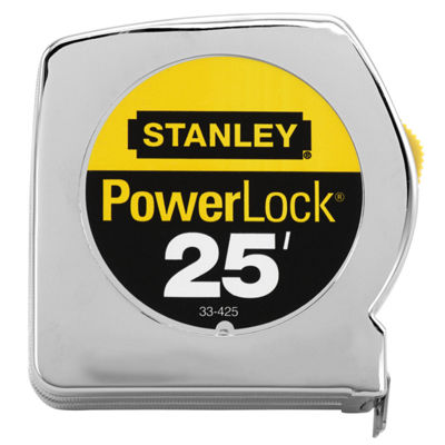 "Stanley Hand Tools 33-425 1"" X 25' Powerlock Ii Professional Tape Measure"