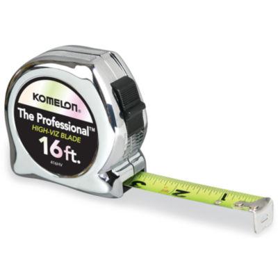 "Komelon Usa 416Hv 3/4"" X 16' Chrome Professional Tape Measure"""