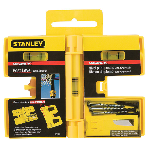 Stanley Hand Tools 47-720 Stanley Post Level