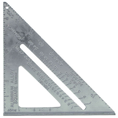 Mayes 11059 7IN Aluminum Rafter Angle Square