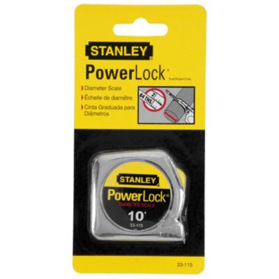 """Stanley Hand Tools 33-115 10'  X 1/4"""" Powerlock Pocket Tape Rule"""
