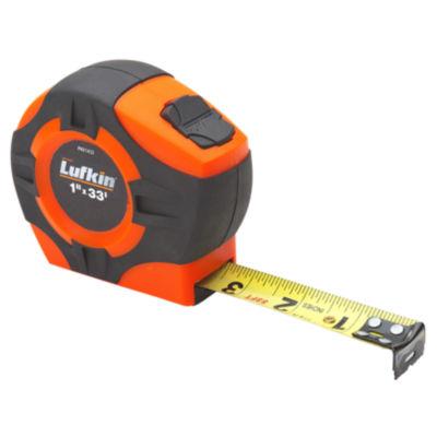 Lufkin Phv1433N 1IN X 33' Hi-Viz Orange Tape Measure