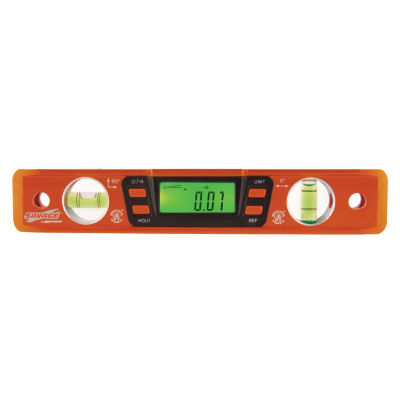 "Savage Svt200 9"" Digital Magnetic Torpedo Level"