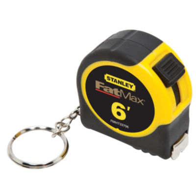 "Stanley Fat Max Fmht33706W 1/2"" X 6' Fatmax¨ Keychain Tape Measure"""