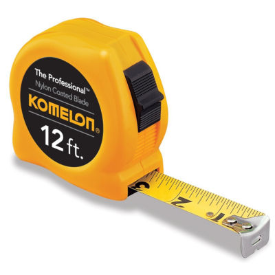Komelon Usa 4912 12' X 5/8IN Yellow Power Tape Measure