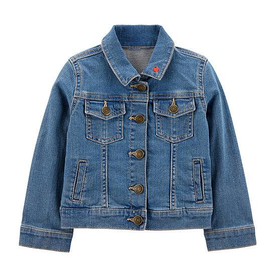 2231dc9a098ae Carter s Girls Denim Jacket-Toddler - JCPenney