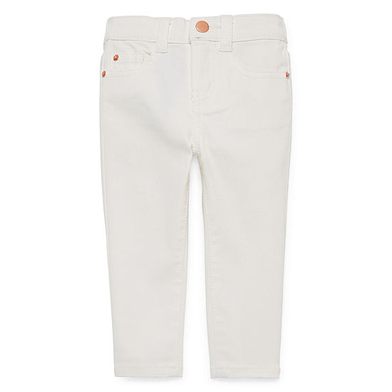 Peyton & Parker Girls Skinny Pull-On Pants - Baby