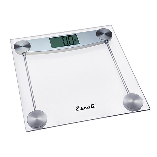 Escali Glass And Chrome Bathroom Scale