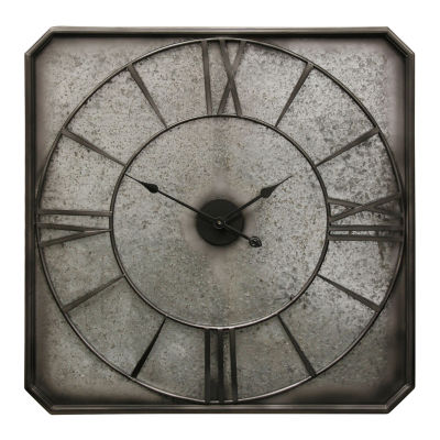"Stylecraft 31.9"" W Rustic Metal Wall Clock-Wc2126ds"