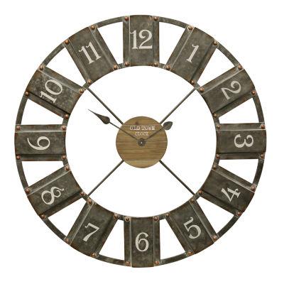 "Stylecraft 36"" W Wooden Industrial Wall Clock-Wc2129ds"