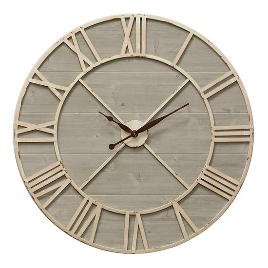 "Stylecraft 36"" W Antique Wall Clock-Wc2130ds"