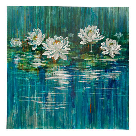 Stylecraft Botanical Lilies 40 W Canvas Art