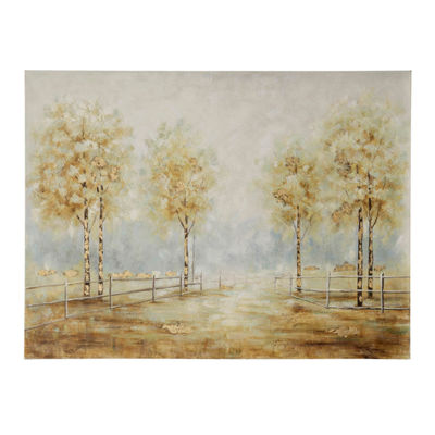 "Stylecraft 36"" W Pathy Way Canvas Art"