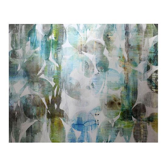 "Stylecraft 40"" W Metal Gallery Panel Canvas Art"