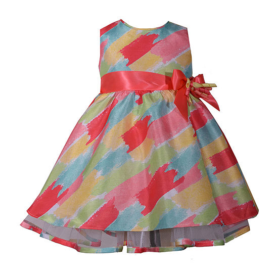 7579eb67ea66d Bonnie Jean Sleeveless A-Line Dress - Baby Girls - JCPenney