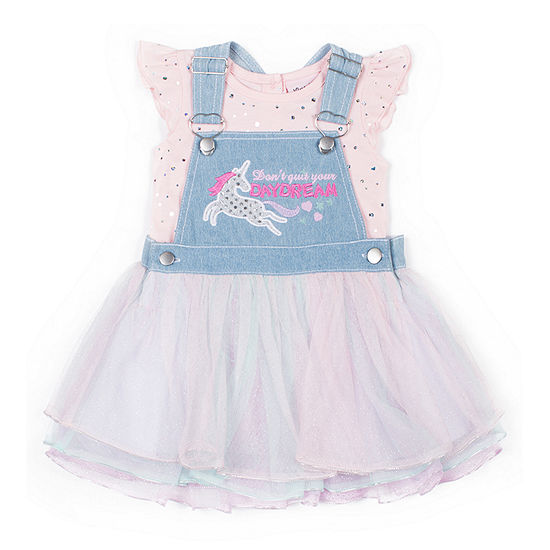 Little Lass Girls Skirtalls-Baby