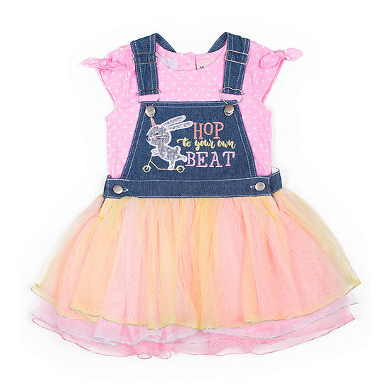 Little Lass Girls Skirtalls-Baby