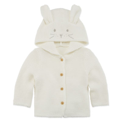 Peyton & Parker Hooded Neck Long Sleeve Layered Sweaters - Girls