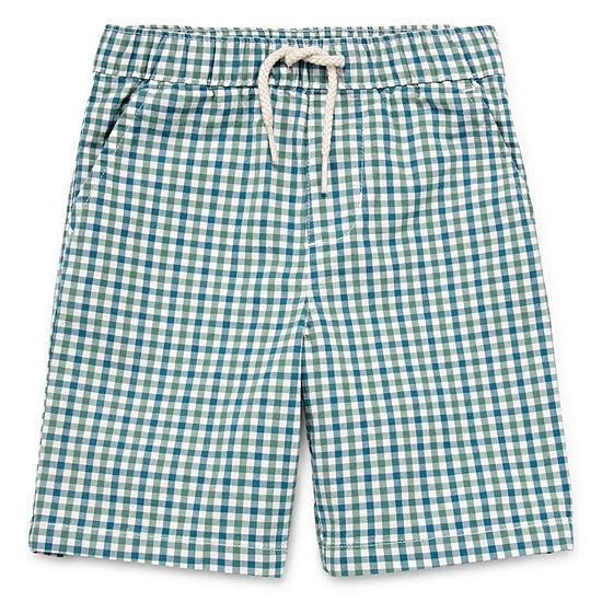 Peyton & Parker Pull-On Shorts-Toddler Boys
