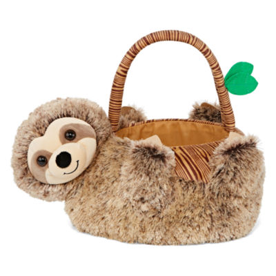 City Streets Sloth Plush Easter Baskets