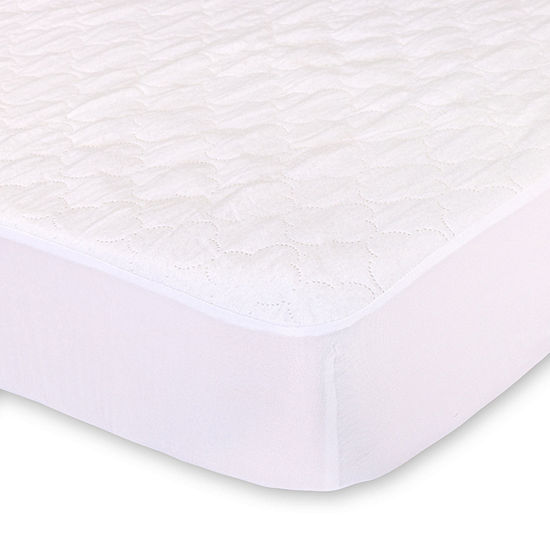 The Peanut Shell Knit Crib Mattress Pad