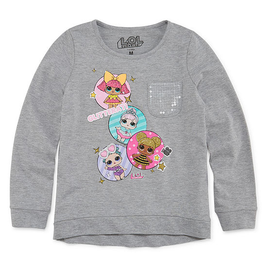Lol Surprise Pocket Graphic T-Shirt - Girls