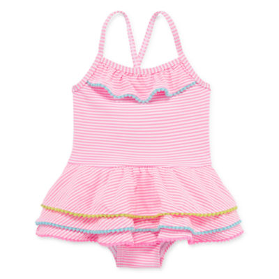 Wetsuit Club One Piece Swimsuit Toddler Girls