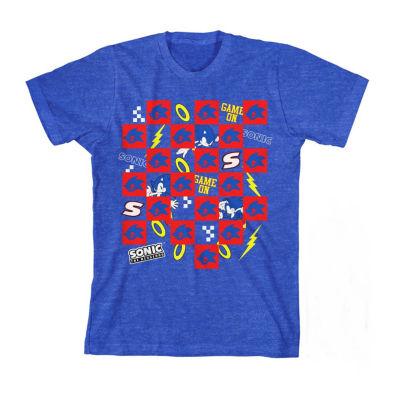 Boys Crew Neck Short Sleeve T-Shirt Preschool / Big Kid