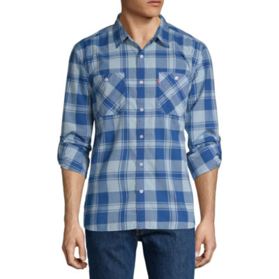 Levi's® Long Sleeve Button- Front Shirt