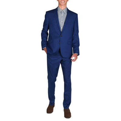 Billy London Hot Blue Slim Fit Stretch Suit Jacket