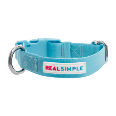 Real Simple Dog Waterproof Collar Blue