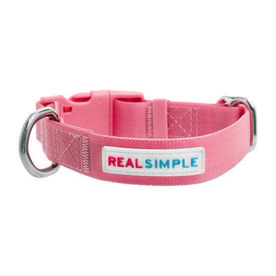 Real Simple Dog Waterproof Collar Pink