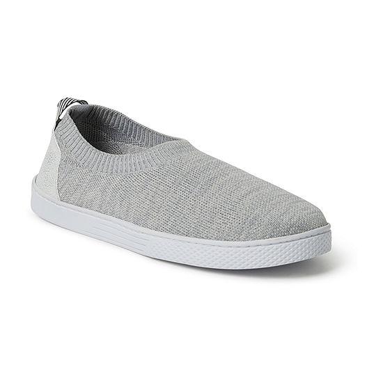 Dearfoams Knit Closed Back Slip On Slippers