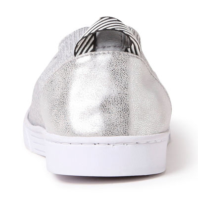 Dearfoams Knit Closed Back Slip-On Slippers