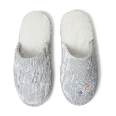 Dearfoams Bridal Scuff Slip-On Slippers