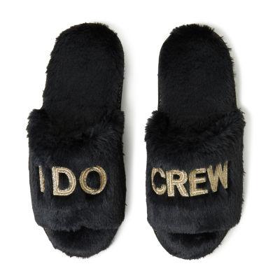 Dearfoams  I Do Crew Slide Slip-On Slippers