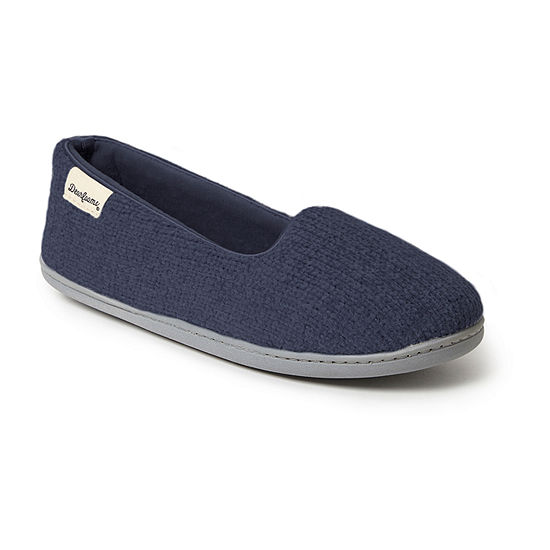 Dearfoams Chenille Slip-On Slippers