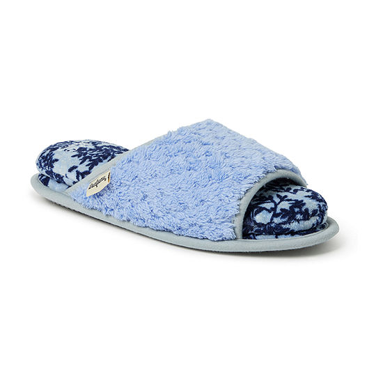Dearfoams Cloud Step Womens Slip-On Slippers