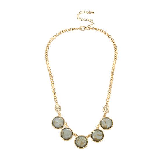 Worthington 20 Inch Link Collar Necklace