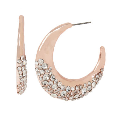 Worthington 1 1/2 Inch Hoop Earrings