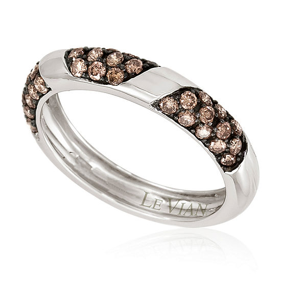 LIMITED QUANTITIES Le Vian Grand Sample Sale™ Chocolate Diamonds® Ring set in 14K Vanilla Gold®
