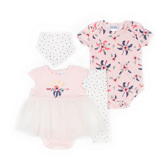 Nicole Miller 4-pc. Baby Clothing Set-Baby Girls
