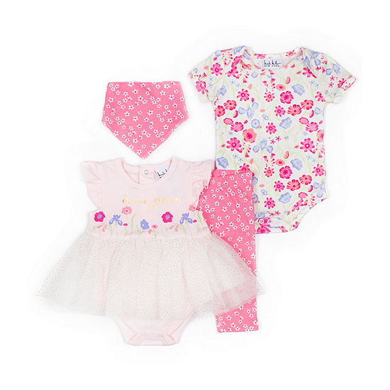 Nicole Miller 4-pc. Baby Clothing Set-Baby Girls