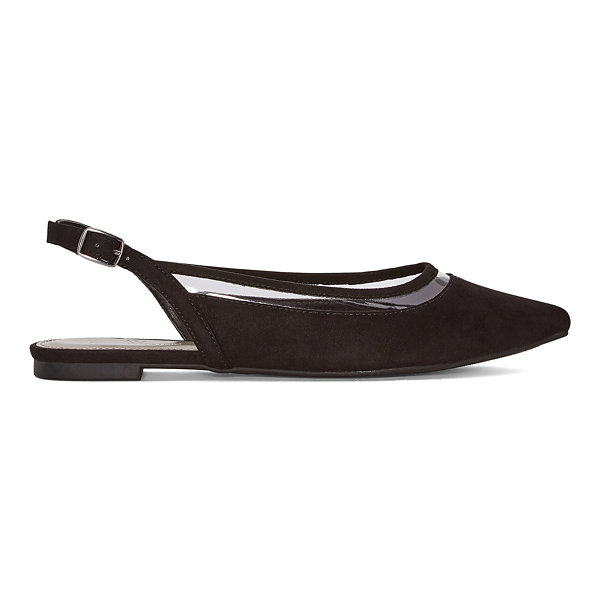 Worthington Womens Gibby Pointed Toe Ballet Flats