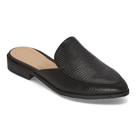 CL by Laundry Womens Feliciti Mules Pointed Toe