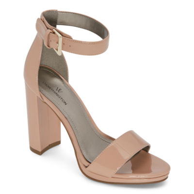 Worthington Womens Lafayette Heeled Sandals