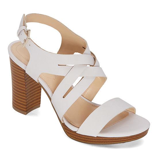 Liz Claiborne Womens Prime Heeled Sandals